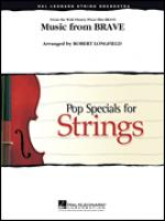 Music From Brave, violin 3 (viola treble clef) part Sheet Music