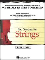 We're All in This Together (from High School Musical) (COMPLETE) Sheet Music