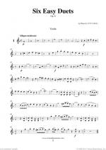 Six Easy Duets Op.8 Sheet Music