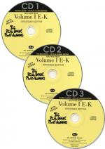 The Real Book Playalong Sixth Edition - Volume 1 E-K (3 CDs) Sheet Music