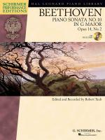 Ludwig Van Beethoven: Piano Sonata No.10 In G Op.14 No.2 (Schirmer Performance Edition) Sheet Music