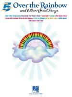 Five Finger Piano: Over The Rainbow And Other Great Songs Sheet Music