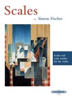 Simon Fischer: Scales Sheet Music
