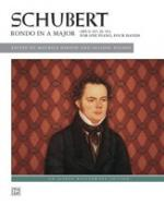 Franz Schubert: Rondo In A Op.107 D.951 Sheet Music