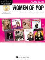 Hal Leonard Instrumental Play-Along: Women of Pop - Alto Saxophone Sheet Music