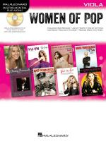 Hal Leonard Instrumental Play-Along: Women of Pop - Viola Sheet Music