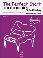 Kevin Olson/Julia Olson: The Perfect Start For Note Reading - Book 3 Sheet Music