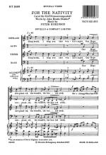 Peter Dickinson: For The Nativity Sheet Music