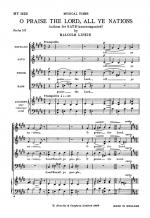 Malcolm Lipkin: O Praise The Lord, All Ye Nations Sheet Music