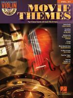 Violin Play-Along Volume 31: Movie Themes Sheet Music