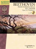 Ludwig Van Beethoven: Piano Sonata No.21 In C Op.53 Waldstein (Schirmer Performance Edition) Sheet Music