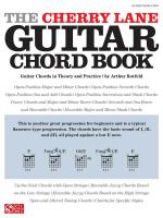 Arthur Rotfeld: The Cherry Lane Guitar Chord Book Sheet Music