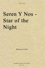 Rebecca Faith: Seren Y Nos, Star Of The Night Sheet Music