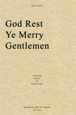 God Rest Ye Merry Gentlemen (Flute/Piano) Sheet Music