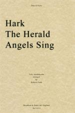 Felix Mendelssohn: Hark The Herald Angels Sing (Flute/Piano) Sheet Music
