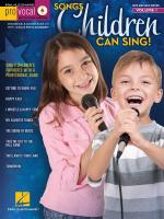 Pro Vocal Boys' & Girls' Edition Volume 1: Songs Children Can Sing! Sheet Music