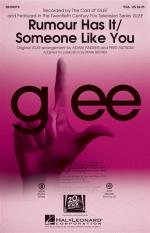 Adele: Rumour Has It/Someone Like You (Choral Mash-up From Glee) Sheet Music