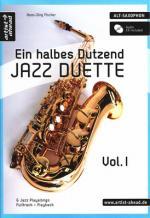 Artist Ahead Musikverlag Ein Halbes Dutzend Jazz-sax Sheet Music