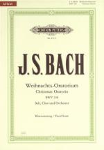 C.f. Peters Bach Christmas Oratorio Bwv248 Sheet Music
