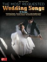 The Most Requested Wedding Reception Songs Sheet Music