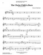 Intermediate Music for Four, Christmas - Part 2 for Bb Clarinet Sheet Music