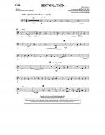 Restoration - Cello Sheet Music