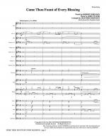 Come, Thou Fount Of Every Blessing - Full Score Sheet Music