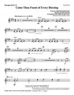 Come, Thou Fount Of Every Blessing - Bb Trumpet 2,3 Sheet Music