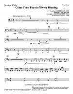 Come, Thou Fount Of Every Blessing - Trombone 3/Tuba Sheet Music