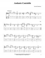 Andante Cantabile Sheet Music