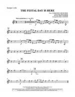 The Festal Day Is Here - Bb Trumpet 1 Sheet Music