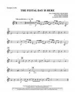 The Festal Day Is Here - Bb Trumpet 2 Sheet Music