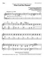 What God Has Planned - Piano Sheet Music