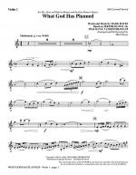 What God Has Planned - Violin 1 Sheet Music