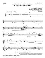 What God Has Planned - Violin 2 Sheet Music