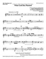 What God Has Planned - Alto Sax (sub. Horn) Sheet Music