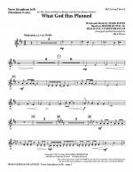 What God Has Planned - Tenor Sax (sub. Tbn 2) Sheet Music