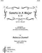 Sonata in A Major, K. 12 Sheet Music