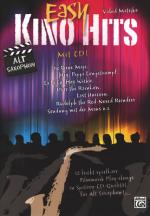 Alfred Music Publishing Easy Kino Hits For Alto Saxop. Sheet Music
