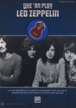 Alfred Music Publishing Uke 'an Play Led Zeppelin Sheet Music