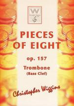 Christopher D Wiggins Pieces Of Eight F.tromb. Bass Sheet Music