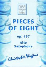 Christopher D Wiggins Pieces Of Eight F. Alto Sax Sheet Music