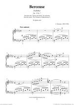 Berceuse (Lullaby) Op.13 No.7 Sheet Music