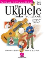 Play Ukulele Today! - Songbook Sheet Music
