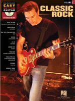 Easy Rhythm Guitar Volume 2: Classic Rock Sheet Music