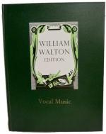 William Walton: Vocal Music (Hardback) Sheet Music