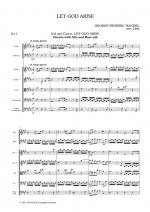 G.F. Handel: Let God Arise HWV256b (Chapel Royal Version) - Parts Sheet Music