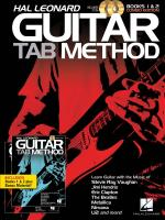 Hal Leonard Guitar Tab Method: Books 1 & 2 Combo Edition Sheet Music