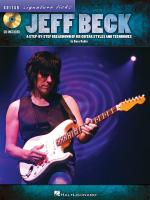 Jeff Beck: Guitar Signature Licks Sheet Music
