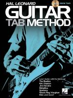 Hal Leonard Guitar Tab Method: Book Two Sheet Music